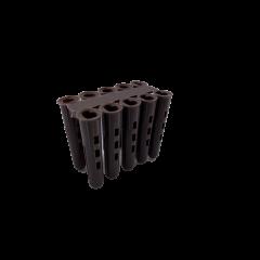 Brown Wall Plugs - 7mm