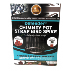 Chimney Pot Strap Bird Spike