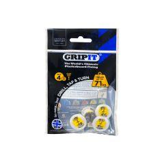 GripIt 15mm Plasterboard Fixings - 4 Pack