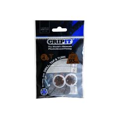 GripIt 20mm Plasterboard Fixings - 4 Pack