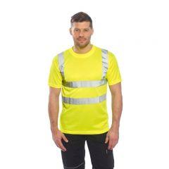 Hi Vis Yellow T-Shirt, sml, med, lrg, xl, xxl, xxxl