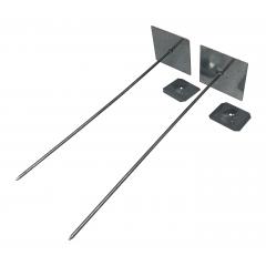 Self Adhesive Insulation Hangers 165mm - Aluminium - Box of 250