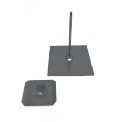Self Adhesive Insulation Hangers 62mm - Aluminium - Box of 500