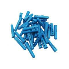 Blue Plastic Wall Plug 10mm x 50mm Pack of 100