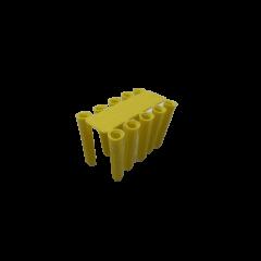 Yellow Wall Plugs - 5mm