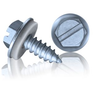 Hex Head Self-Tapping Screw 4.8 x 16mm (EPDM Washer)
