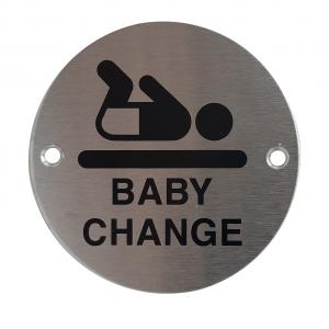 Baby Change Door Disc