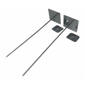 Self Adhesive Insulation Hangers - Aluminium