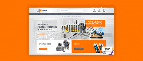 BS Fixings Launches Brand New Website
