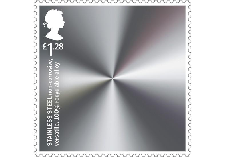 Stainless Steel Wins Coveted Place on Stamps