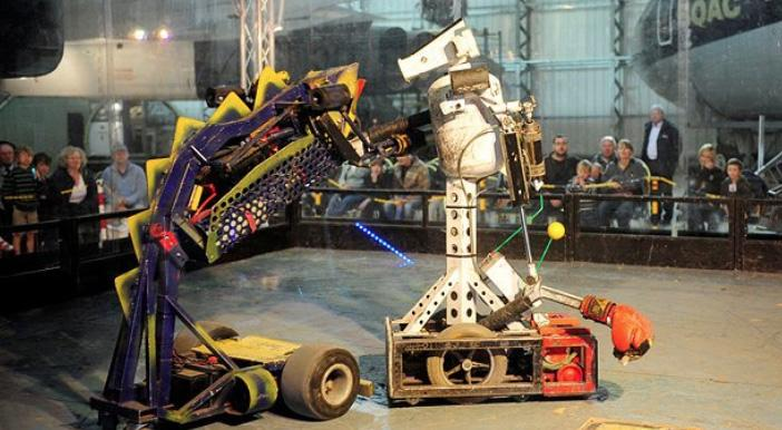 Robot Wars LIVE - We Visit the Filming!