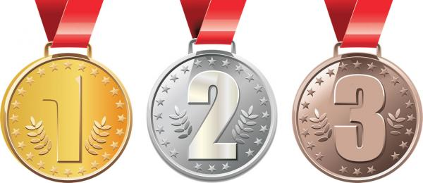 What are Olympic Medals made from?